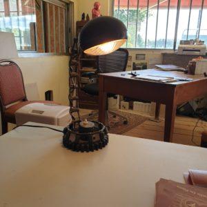 Lampe style industriel modèle unique câblage et ampoule comprise 42 de haut par 20 de large ref 0262dvquen 480 €