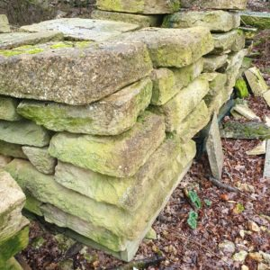 Abbey paving lot of 30 m²
